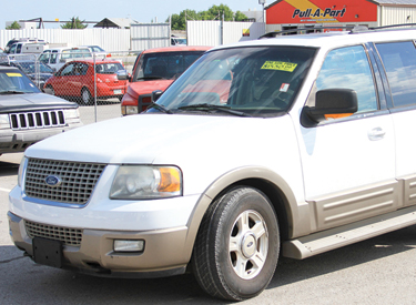 Purchase a used car at Pull-A-Part.