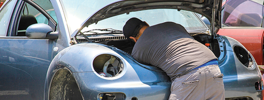 Pull your own auto parts at Pull-A-Part.