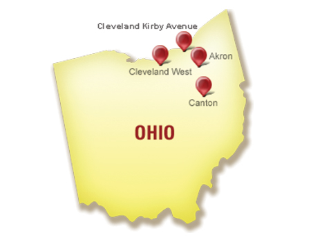 Pull-A-Part locations in Ohio