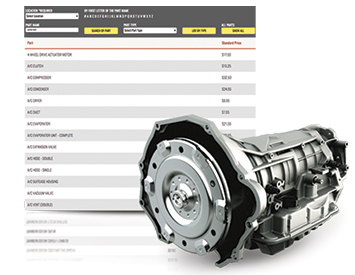Search for auto parts at Pull-A-Part.