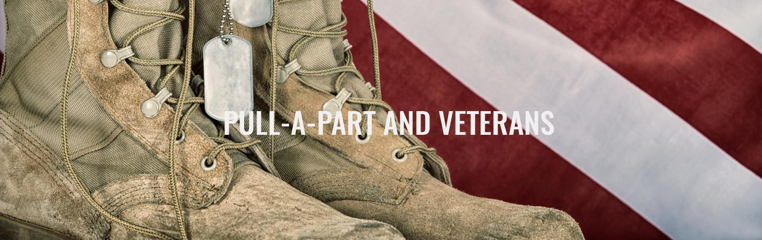 Pull-A-Part supports veterans