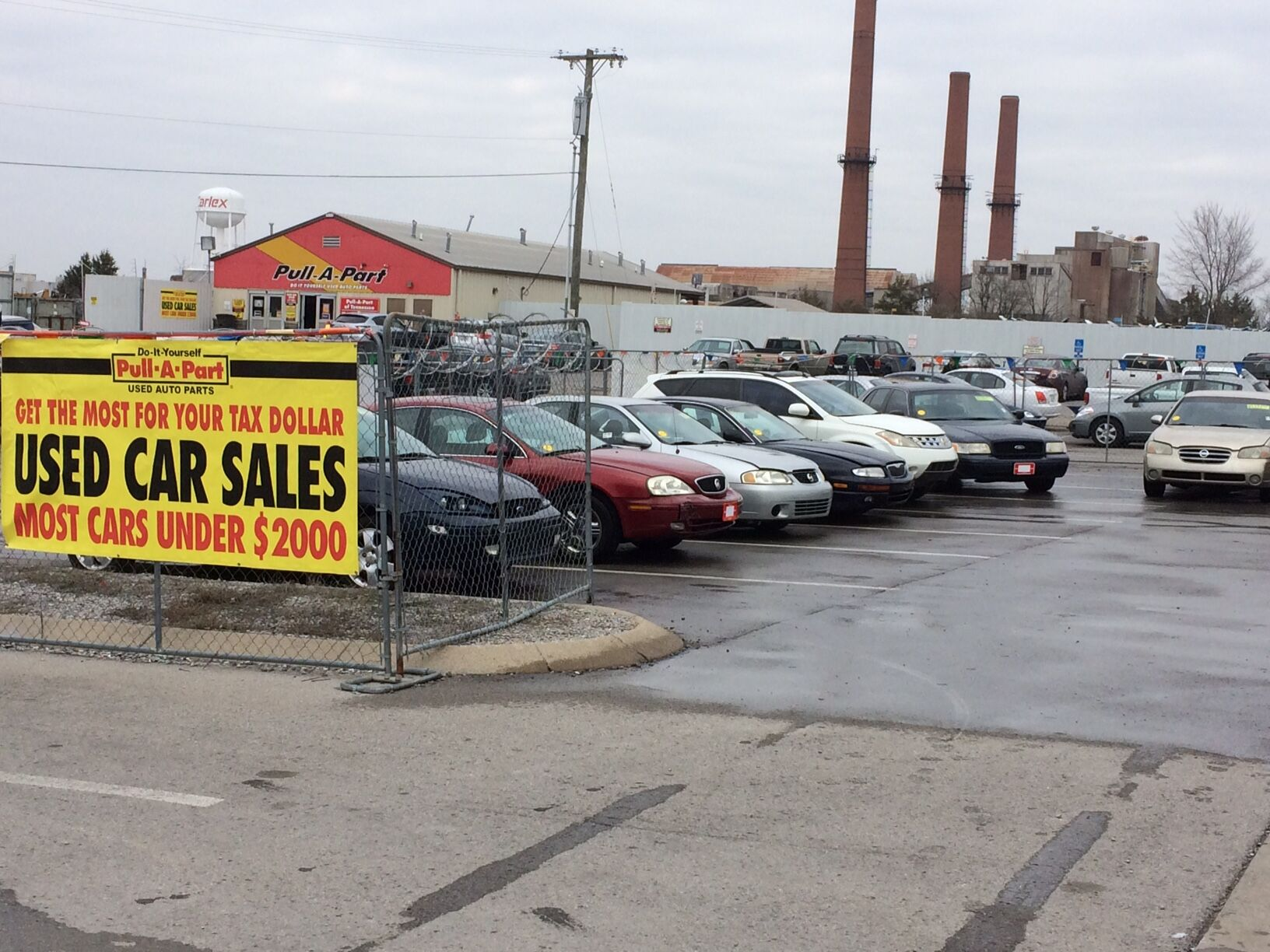 Purchase a great used car at Pull-A-Part. Most cars under $2,000.