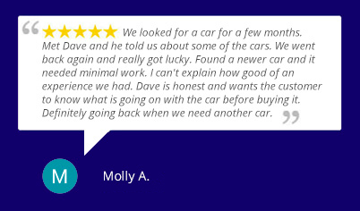 Buying a used car at Pull-A-Part was the best buying experience in a very long time.